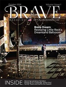 Front cover of our first issue of Brave Magazine.