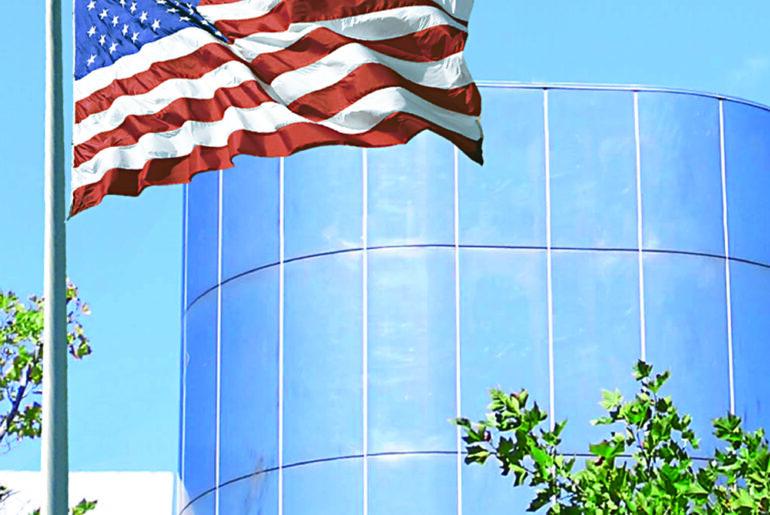 100% American Made American Flag by FlagandBanner.com