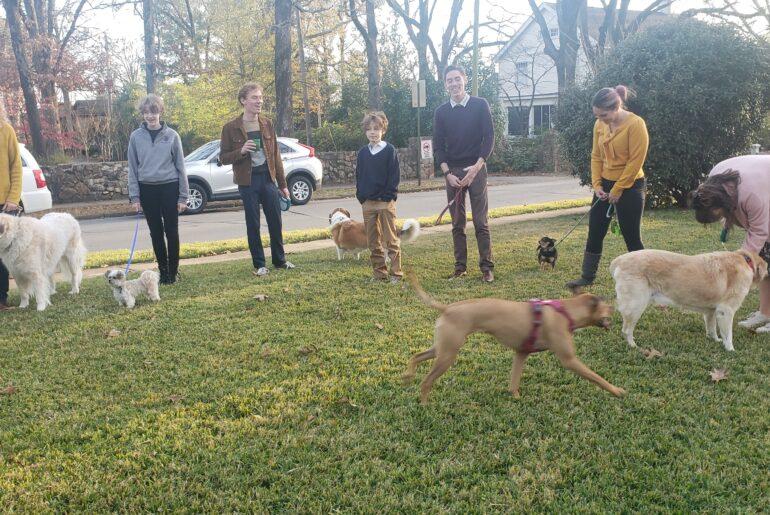 Kerry McCoy's children, grandchildren and granddogs